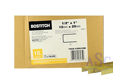 Stanley Bostitch 16S2-12 Construction Staple