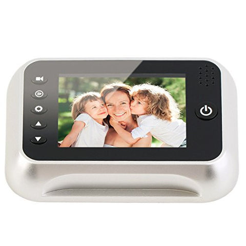 "3.5"" LCD Door Bell Eye Digital Video Recording Doorbell Peep Door Viewers"