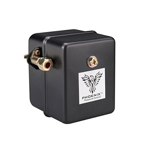 Phoenix 69HAU1 Heavy Duty 115/150 PSI 1-Port Air Compressor Switch with Unloader Valve (Furnas type)