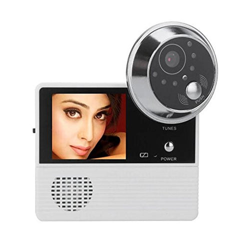 "2.4"" High Resolution LCD Digital Door Viewer 120 Degree Peephole + Take Photo + Anti-theft Alarm + Night Vision Eye Doorbell Video Color IR Camera Cam"