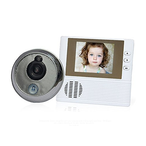 2.8-Inch LCD Display Video Door Doorbell (Round)