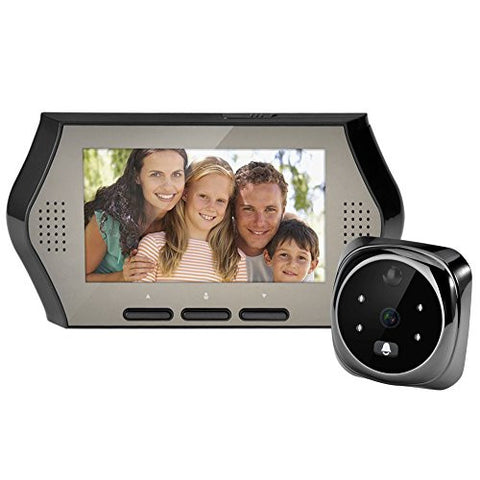4.3 inch LED Display Digital Video Door Peephole Viewer Door Eye Doorbell