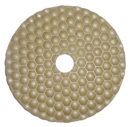 "5"" DRY Diamond Polishing pad - 3000 grit"