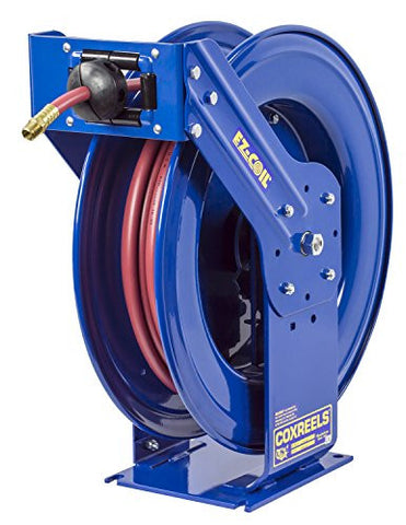 "Coxreels Truck Series Hose Reel with EZ-Coil, Spring Return, Model# EZ-TSH-4100,  1/2"" Hose ID, 100' Length"