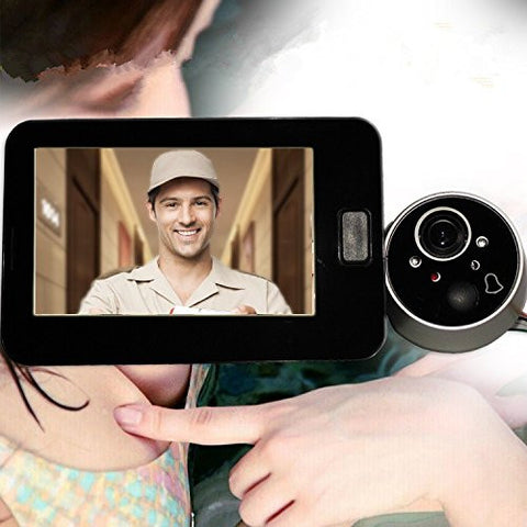 4.3 Inch Screen Video Door Phone Doorbell Home Security Monitor Intercom System Night Vision