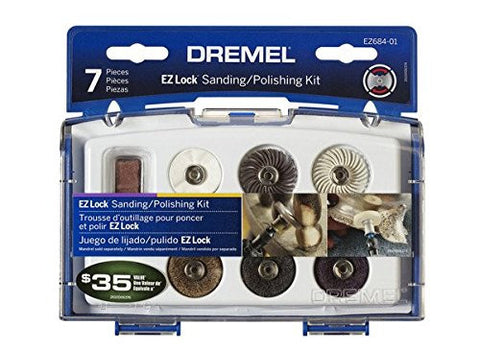 Dremel EZ684-01 EZ Lock Sanding And Polishing Kit