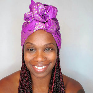 Royalty headwrap