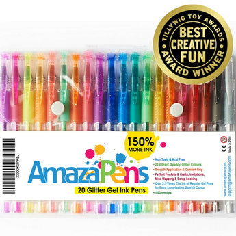 Specialty Gel Pen Sets  - 150% More Ink