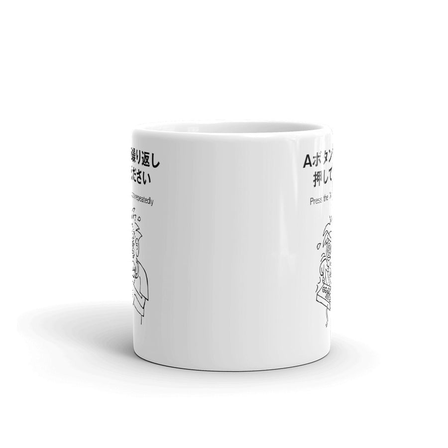 A Button Frenzy Mug