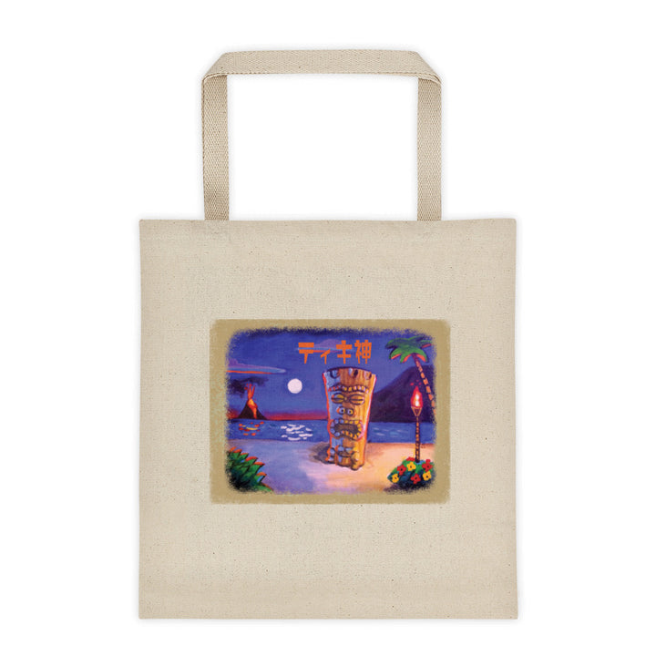 Tiki God Tote Bag