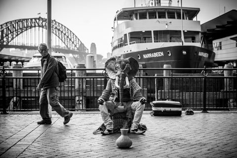 Ganesh at Circular Quay