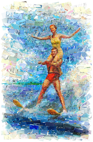Waterski Couple