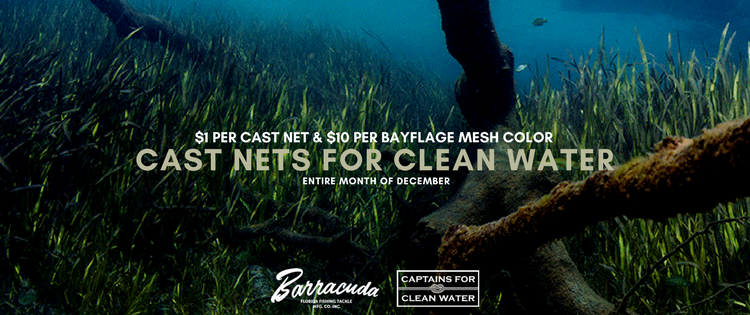 Cast Nets for Clean Water