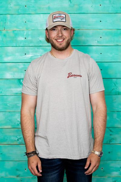 Barracuda Vintage Mens Short Sleeve Cotton T-Shirt | Barracuda Tackle | Florida Fishing Tackle MFG. CO.