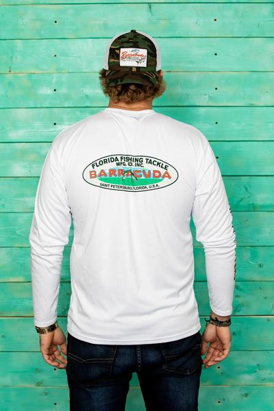 Barracuda Classic FFTMCI  Mens UV Performance L/S Shirt | Barracuda Tackle | Florida Fishing Tackle MFG. CO.