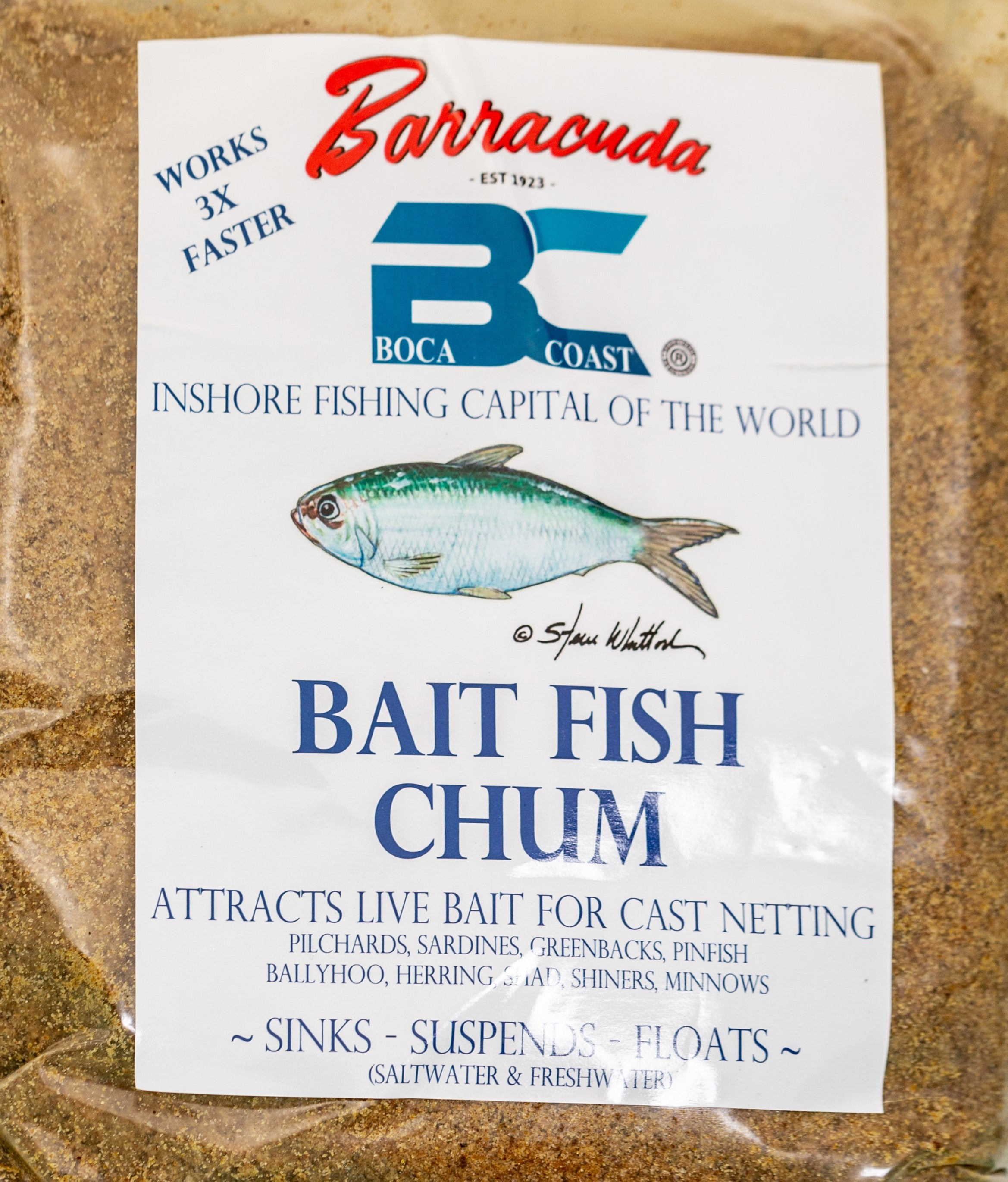 Bait Fish Chum (4lb Bag)