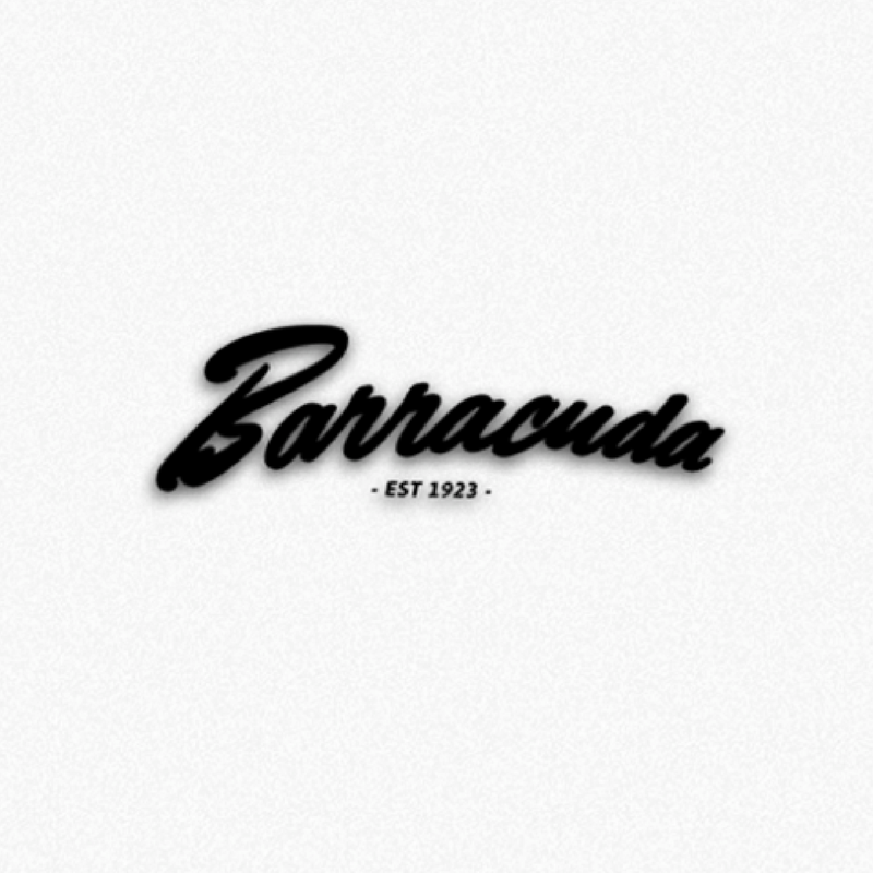 Barracuda Tackle Logo Decal | Barracuda Tackle | Florida Fishing Tackle MFG. CO.
