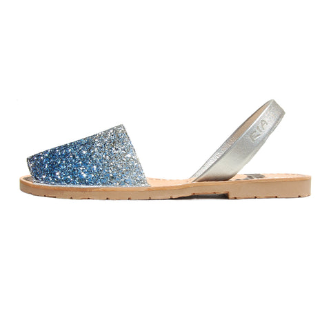 Avarcas Glitter Menorcan Sandals Joan in Bluemoon
