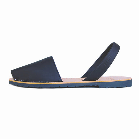 Avarcas Menorcan Sandals Morell in Black