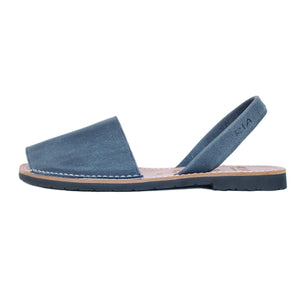 Mens Avarcas Menorcan Sandals Torres in Denim