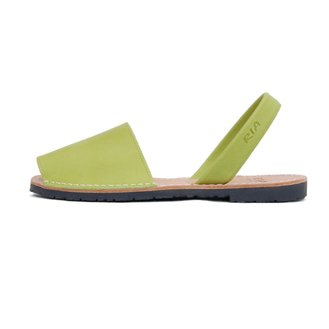 Avarcas Menorcan Sandals Morell in Green
