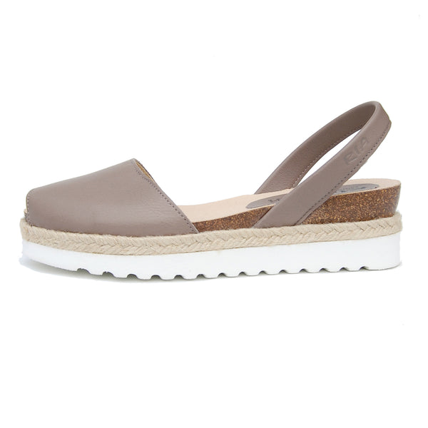 Cala Avarcas Menorcan Sandals in Putty