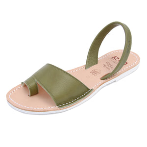Costa Avarcas Menorcan Sandals in Olive