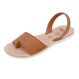 Costa Avarcas Menorcan Sandals in Tan