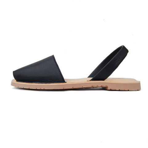 Avarcas Cushioned Sandals Avila in Black