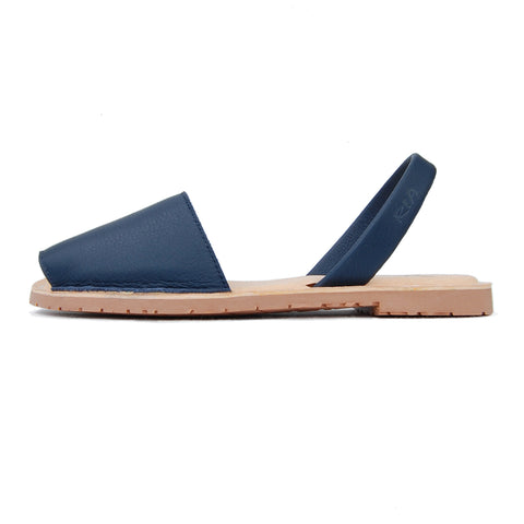 Avarcas Cushioned Sandals Avila in Navy