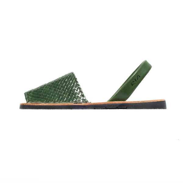 Avarcas Menorcan Sandals Fornells in Green