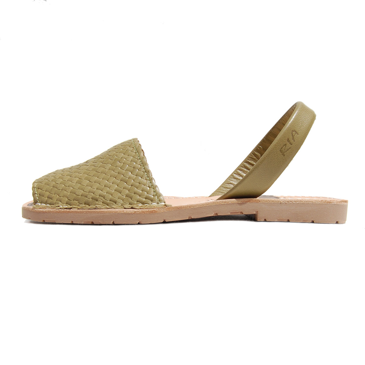 Avarcas Menorcan Sandals Fornells in Olive