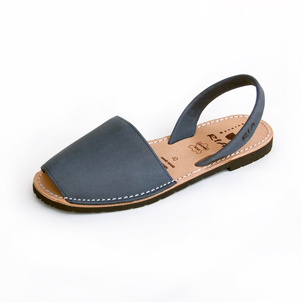 Avarcas Menorcan Sandals Torres in Denim