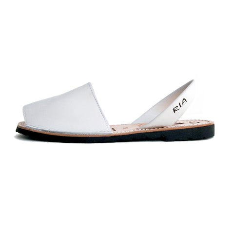 Avarcas Menorcan Sandals Morell in White