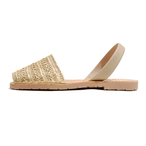 Roba Avarcas Sandals in Grass Weave