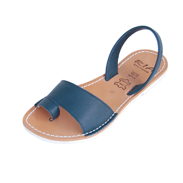 Avarcas Menorcan Sandals Costa in Navy