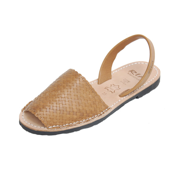 Avarcas Menorcan Sandals Fornells in Oak
