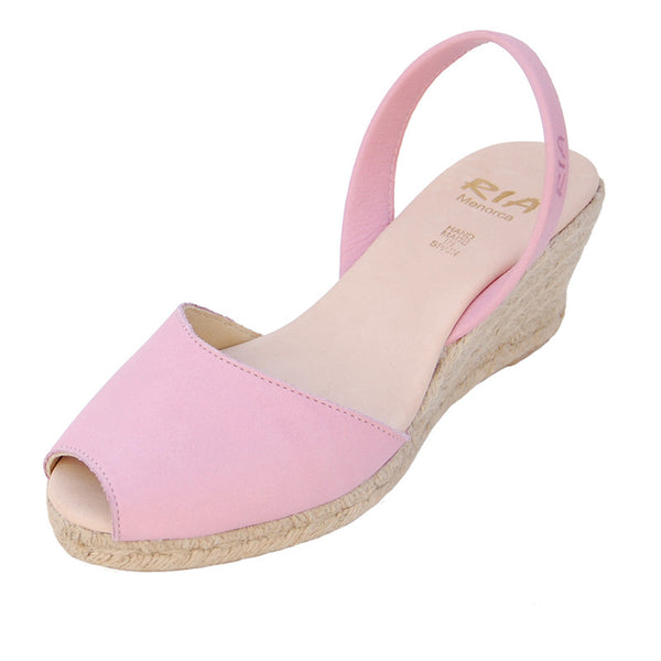 Avarcas Wedge Espadrilles Foro in Pink