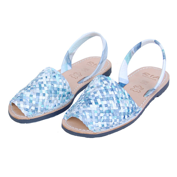 Avarcas Menorcan Sandals Porter in Ocean Blue
