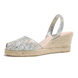 Avarcas Wedge Espadrilles Ramon in Abstract
