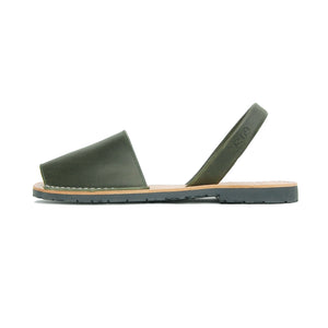 Mens Avarcas Menorcan Sandals Torres in Khaki