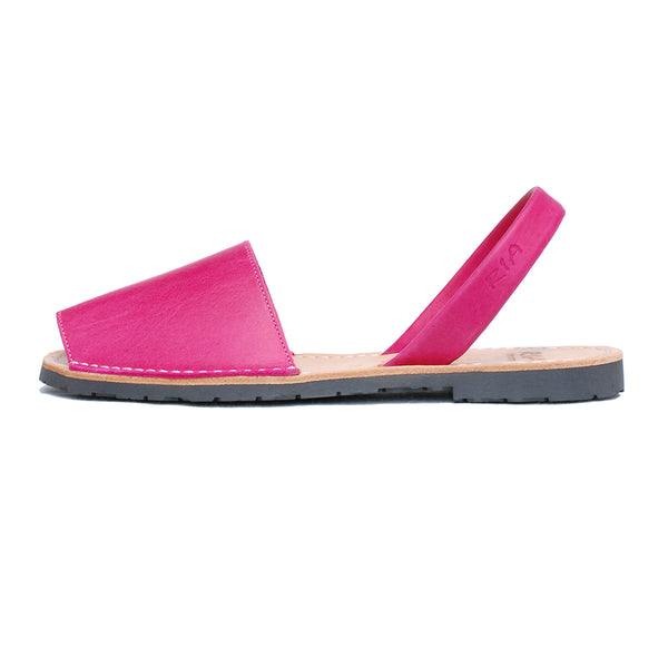 Avarcas Menorcan Sandals Morell in Fuchsia Pink