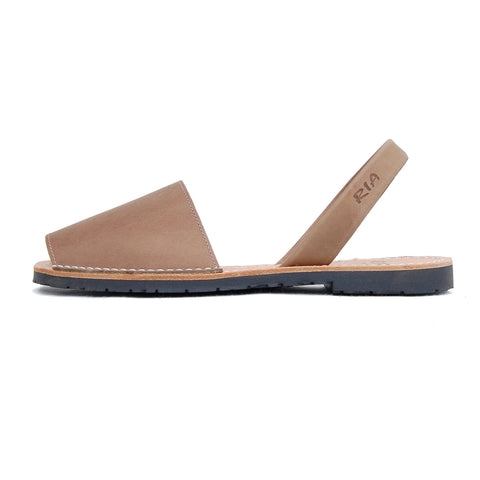 Mens Avarcas Menorcan Sandals Torres in Putty