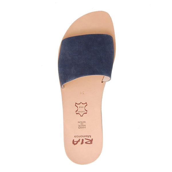 Llux Spanish Slides in Navy