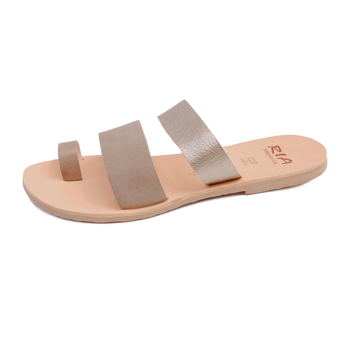 Rico Spanish Slides in Bronze and Putty