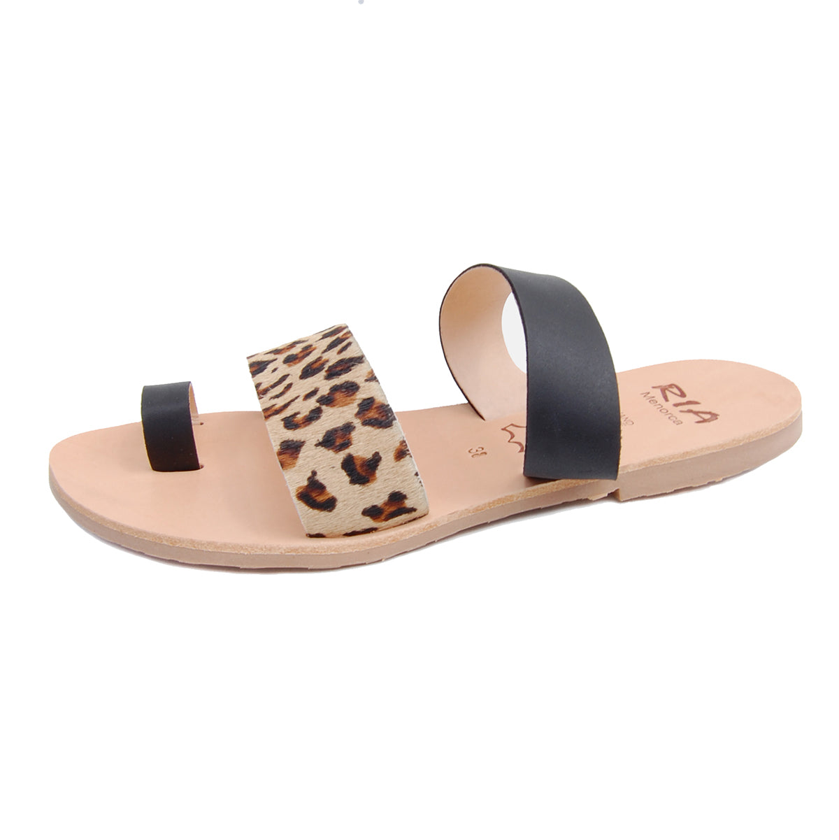 Rico Spanish Slides in Leopard