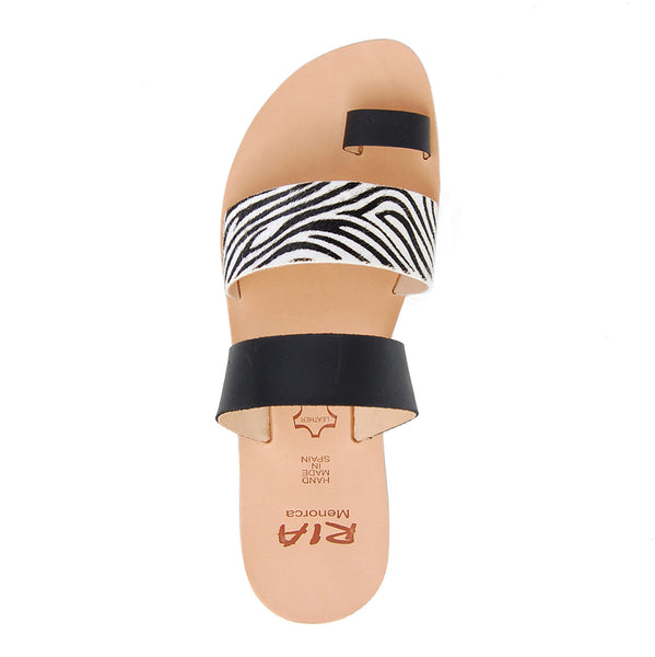 Rico Spanish Slides in Zebra