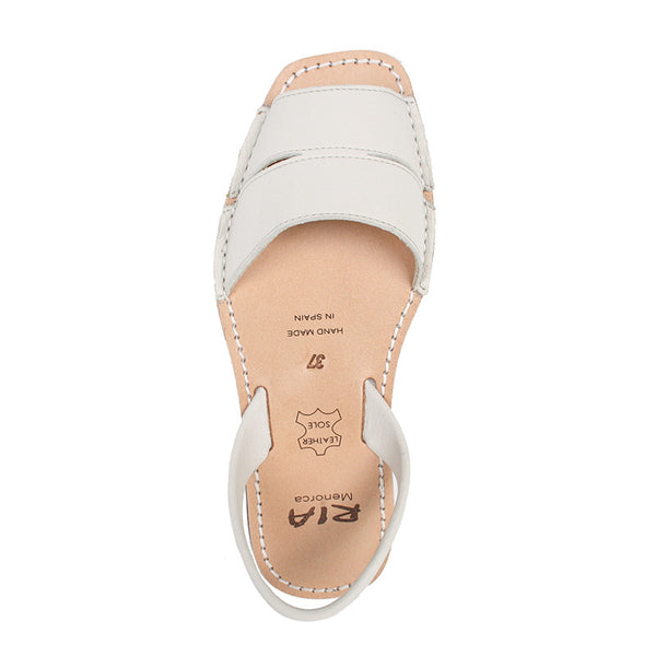 Avarcas Menorcan Sandals Mao in Off White