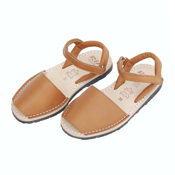 Ria Menorca Australia Kids Childrens Avarcas Sandals Letaher Shoes