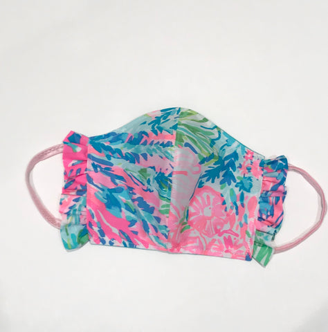 Lilly Pulitzer Fabric Face Masks